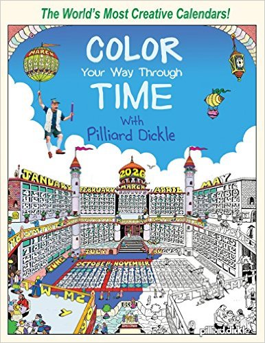 Color Your Way Through Time